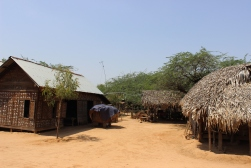 Burmese village life